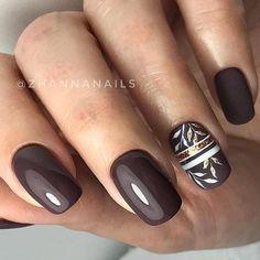 Very good autumnal nailart! Very good autumnal nailart! Pink Nails, Toe Nails, Glitter Nails, Coffin Nails, Sparkle Nails, Nail Nail, French Nails, Fall Manicure, New Nail Designs