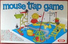 1970s Mouse Trap Game by Ideal
