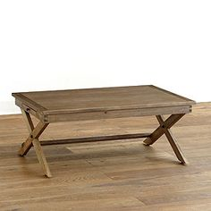 World Market Wood Coffee Table
