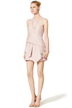 Rent Blush Beverly Dress by BCBGMAXAZRIA for $70 only at Rent the Runway.