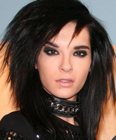 Bill Kaulitz of Tokio Hotel.  I know he's male but he's fairly androgynous.  That's allowed... right? :D