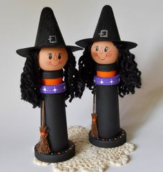 Halloween Witch Decor Halloween Decor Wooden by 2HeartsDesire, $19.99 Proudly Made With Our Hands