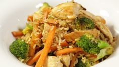 Chicken and Vegetable Rice.