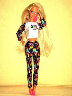 The 11 Hottest Runway Trends Inspired By '90s Barbies // I had this Barbie doll!