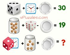 In this math brain teaser picture puzzle game the task is to find the value of the last equation by closely examining the results of the first two equations and Brain Teasers Pictures, Brain Teasers With Answers, Riddles With Answers, Puzzel Games, Who Is His Wife, Brain Riddles, Contest Games, Math Quizzes, Brain Puzzle Games