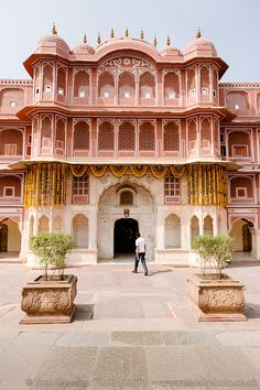 City Palace and Museum, Jaipur, India India Architecture, Beautiful Architecture, Beautiful Buildings, Architecture Design, City Palace Jaipur, India Palace, Udaipur, Rajasthan India, India Travel