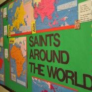 LOVE this idea! Great interactive Bulletin Boards for Sunday Schools!