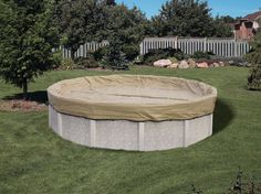 Pro Tek pool covers are great for winterizing your swimming pool.  Find them at Doheny's Pool Supplies Fast: http://www.doheny.com/winter-covers