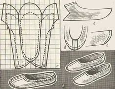 Baby Shoes Pattern, Shoe Pattern, Doll Shoes, Kid Shoes, Clothing Patterns, Sewing Patterns, Sewing Circles, Shoe Crafts, Fabric Shoes