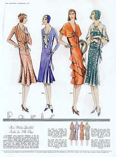 McCall's magazine, December 1929 featuring McCall 5910, 5924, 5916 and 5922