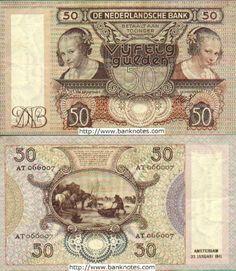 Netherlands 50 Gulden 23.1.1941