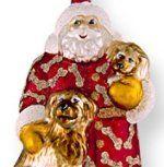 Santa Ornaments Blown Glass Christmas Ornaments, Santa Ornaments, Santa Christmas, Holiday Decor, Bordeaux, Red, Friends, Amigos, Bordeaux Wine