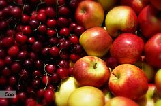 Photograph Äpfel und Kirschen / Apples and cherries by Tanja Riedel on 500px
