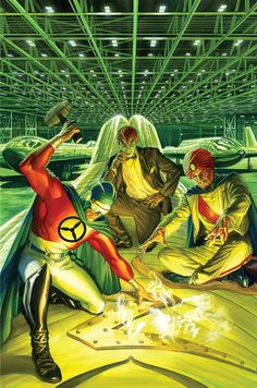 Project Superpowers: Chapter Two #10 •Alex Ross