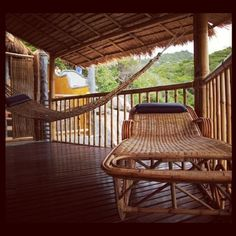 Have a wonderful rest! ;) #bamboo #furniture #balcony #kotao #bamboohuts  #kohtao #thailand #thatchroof #jungle #sea #seaview #photooftheday #picoftheday #instagram credit: mr. Guang He - @bamboohuts
