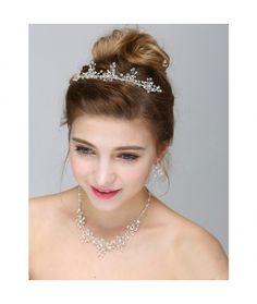 Set tiara, colier si cercei Dutchess  Pret:259 lei  #settiara