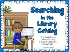Computer Search in the School Library Online... by Kathryn Garcia | Teachers Pay Teachers