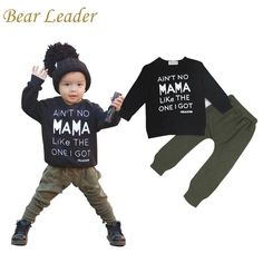 Style Baby Boy Clothing Sets Long-sleeve Letter T-shirt Pants born Boy Clothing Set Infant Costume $19.23 => Save up to 60% and Free Shipping => Order Now! #fashion #woman #shop #diy www.bbaby.net/...