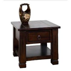 Check out the Sunny Designs 3134DC Santa Fe End Table priced at $427.50 at Homeclick.com.