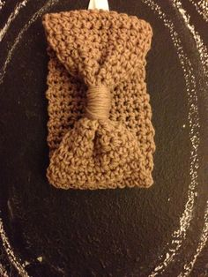 Headband Ear Warmer  Hand Crochet Tan by GoScarfYourself on Etsy