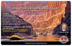 """Have you ever dreamed of rafting through the Grand Canyon? Join us on a summer adventure!  Register with the promo code """"ICR"""" here: https://landmarkevents.brushfire.com/events/440287"""
