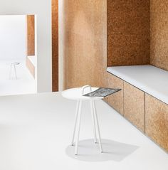 Swiss studio Dost has transformed a restaurant into a heart treatment centre in Zurich, featuring cork-lined cubicles and waiting rooms Zurich, Cork Flooring, Restaurant, Waiting Rooms, Retail Space, Dezeen, Inspiration Boards, Architecture, Switzerland