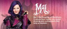 Descendants - Movie Homepage - Character Slider - Mal