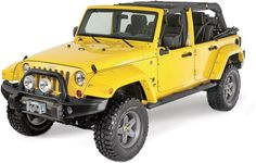 """Quadratec has teamed up with Bushwacker to bring factory matched painted flares right to your door! Add custom styling and paint protection with 2 additional inches of tire coverage to your  Wrangler JK. These popular """"Pocket Style"""" flares install quickly, using existing holes and do not require any drilling. These flares are custom painted to order, please allow 2-4 weeks for delivery."""