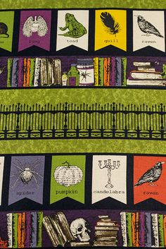 The Chillingsworth collection by Echo Park Paper is coming soon to independent quilt and fabric shops. Check our store locator to get these spooky fabrics near you