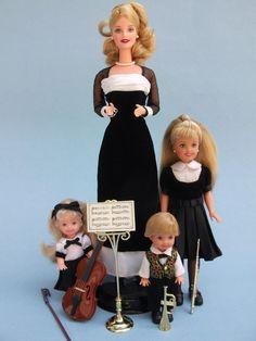 Barbie Evening Recital with Kelly Stacie Tommy   eBay