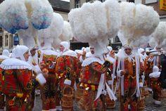 Gilles de Binche - belgium's version of Mardi Gras -- we used to go when I was a…