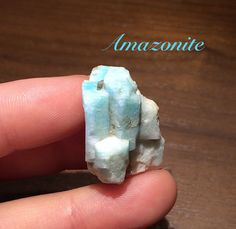 Rare Location Amazonite with Smoky quartz Molars by Rt395Minerals