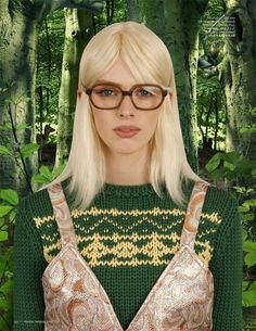 'Wonderland' by Ruud van Empel for Vogue Netherland September 2014 [Editorial] - Fashion Copious