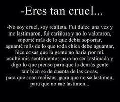 Eso es la cruel realidad😞