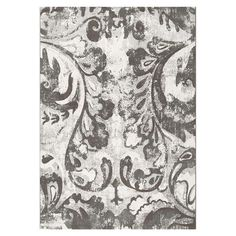Anchor your living room seating group or define space in the den with this Belgian-made rug, showcasing an oversized botanical motif for eye-catching appeal....
