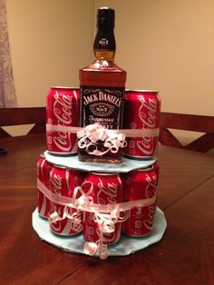 Jack and Coke Cake ! 30th Birthday Gift