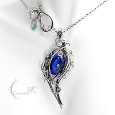 XANGDRIEL - silver, blue quartz by LUNARIEEN on DeviantArt