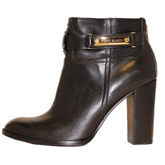 Tory Burch Shiloh Bootie. Love the buckle.