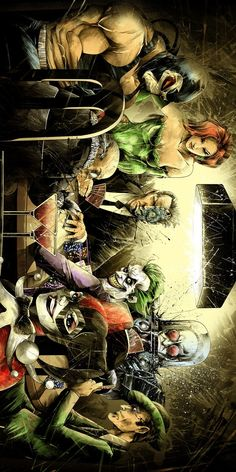 DC Batman Villains. For similar content follow me @jpsunshine10041