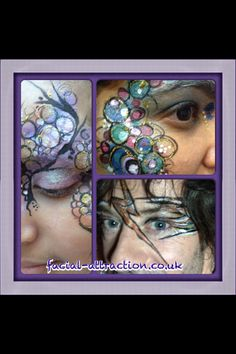 Face design design workshops run by www.facial-attraction.co.uk