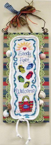 Sandy Feet,  from @DMC Creative World, UK.