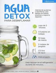 El agua detox, también conocida como infusión de agua, es una combinación de frutas, verduras y hierbas sumergidas en agua fría, que se deja reposar para obtener elagua con sabor a frutas. La bebida, además de hidratar el cuerpo, es muy alcalinizante y puede ayudarnos a desinflamar el organismo y mejorar la digestión. Beneficios del …