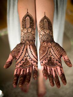 Henna or mehendi designs.