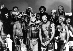 Funkadelic was an American band most prominent during the 1970s. The band and its sister act Parliament, both led by George Clinton, began the funk music culture of that decade. Inducted into Rock And Roll Hall of Fame in 1997 (Performer).