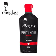 Pinot Noir by OneGlass Wine Red Dot Design, Pinot Noir, Wine Making, Red Wine, Alcoholic Drinks, Pure Products, Alcoholic Beverages, Alcohol