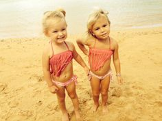 An Aloha Friday I'll always remember with a friend I'll never forget...   Baby & Kids fringe bikini - shop Kimi & Li Bikini