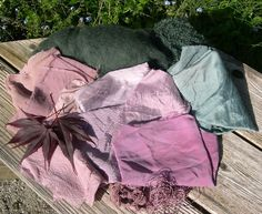 Some lovely colour dyes in this blog