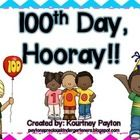 Everyone LOVES the 100th day!  Make the day special for your students by completing 100th day activities.  This freebie includes:  100th Day Q-Tip ...
