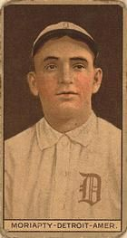 1912 Brown Backgrounds T207 #135 George Moriarty Front