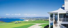The Lodge at Kauri Cliffs - Bay of Islands, North Island, New Zealand - Luxury Hotel Vacation from Classic Vacations New Zealand Hotels, Golf Hotel, New Zealand Holidays, Bucket List Family, Bay Of Islands, Golf Theme, Golf Tour, Travel And Leisure, Hotels And Resorts
